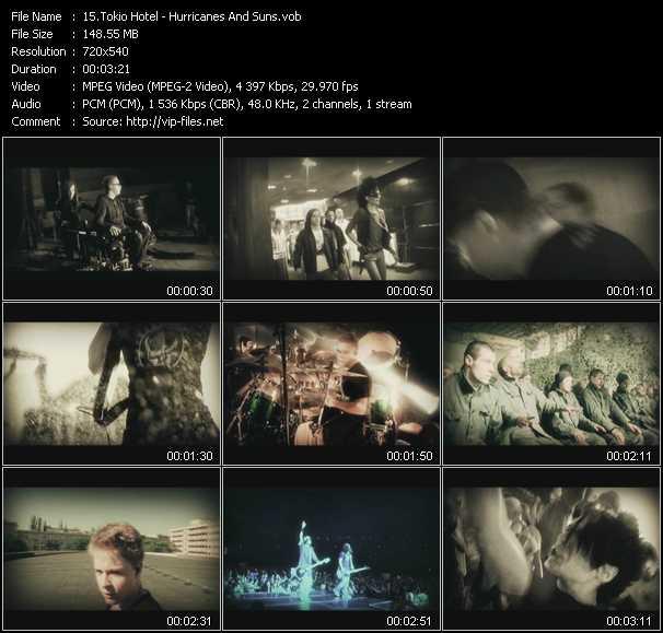 Tokio Hotel video screenshot