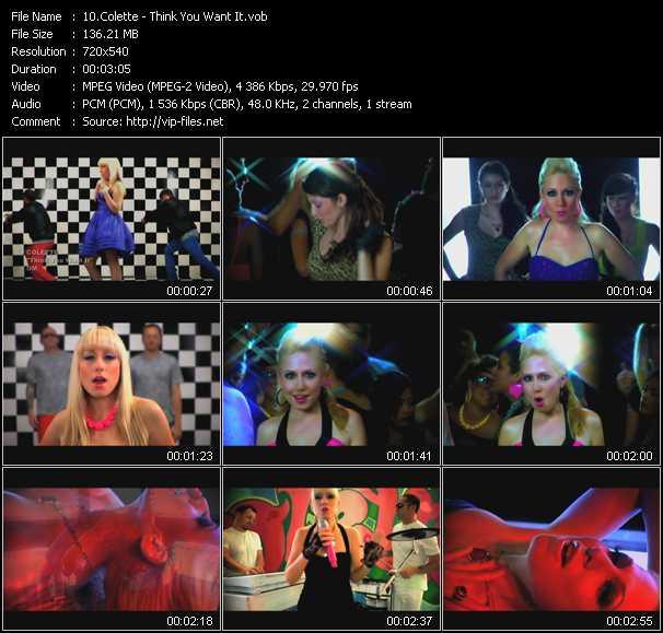 Colette video screenshot