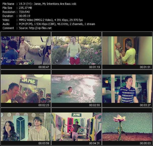 3! (!!!) (Chk Chk Chk) video screenshot