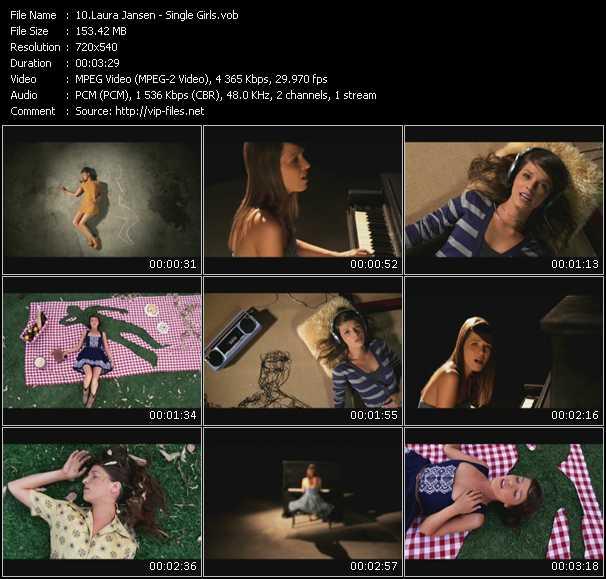 Laura Jansen video screenshot