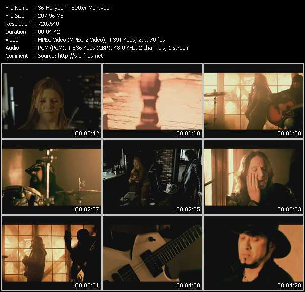 Hellyeah video screenshot