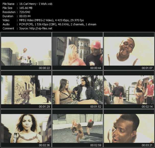 Carl Henry video screenshot