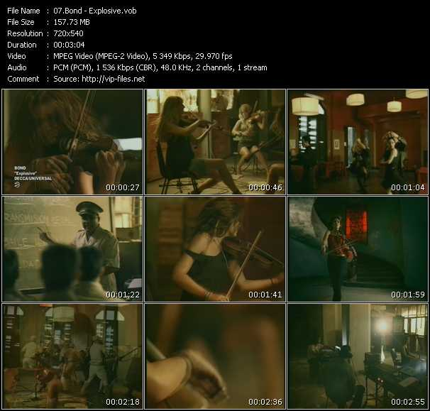 Bond video screenshot