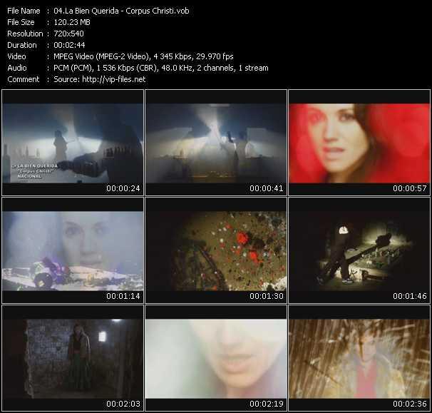 La Bien Querida video screenshot