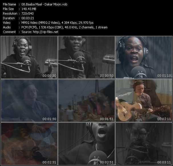 Baaba Maal video screenshot