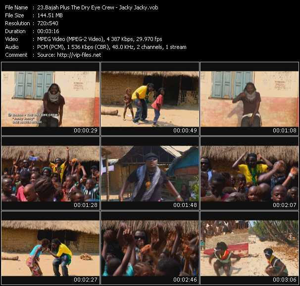 Bajah Plus The Dry Eye Crew video screenshot