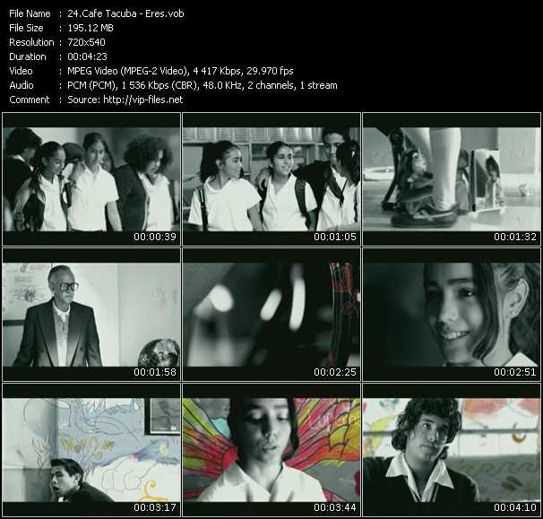 Cafe Tacuba video screenshot
