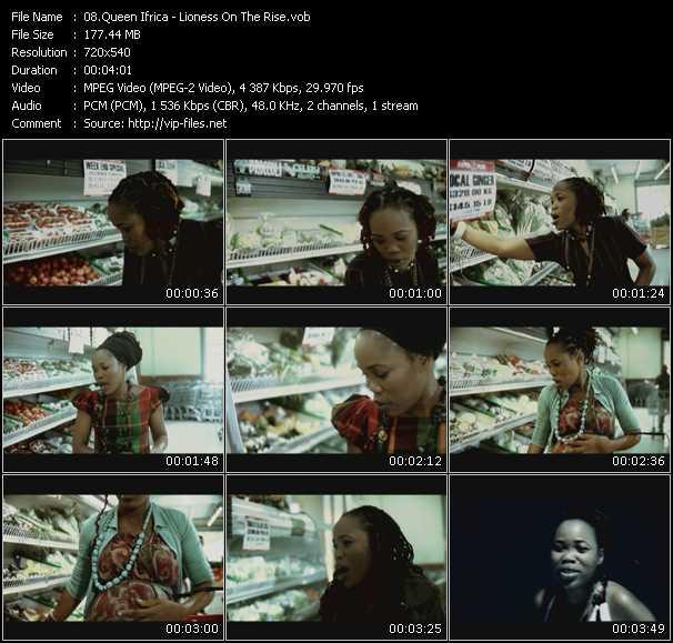 Queen Ifrica video screenshot