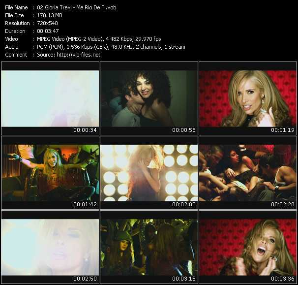 Gloria Trevi video screenshot