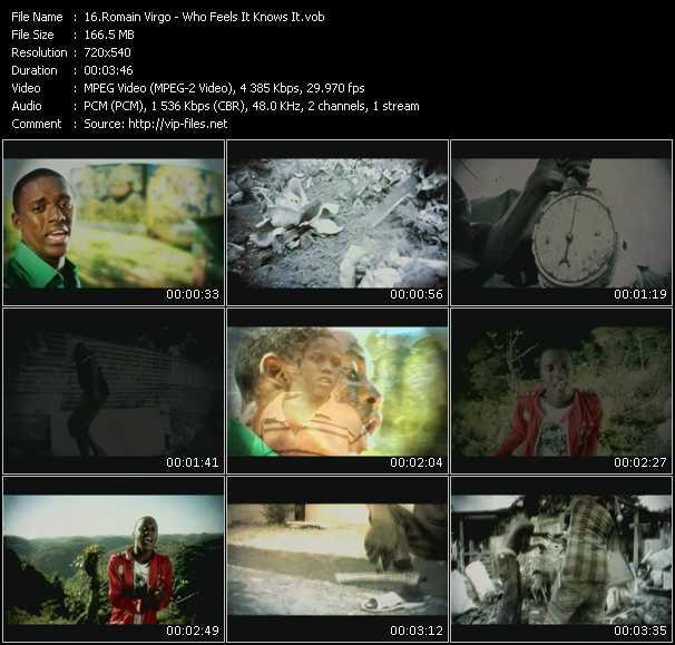 Romain Virgo video screenshot