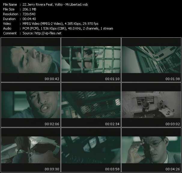Jerry Rivera Feat. Voltio video screenshot
