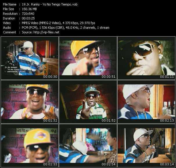 Jr. Ranks video screenshot