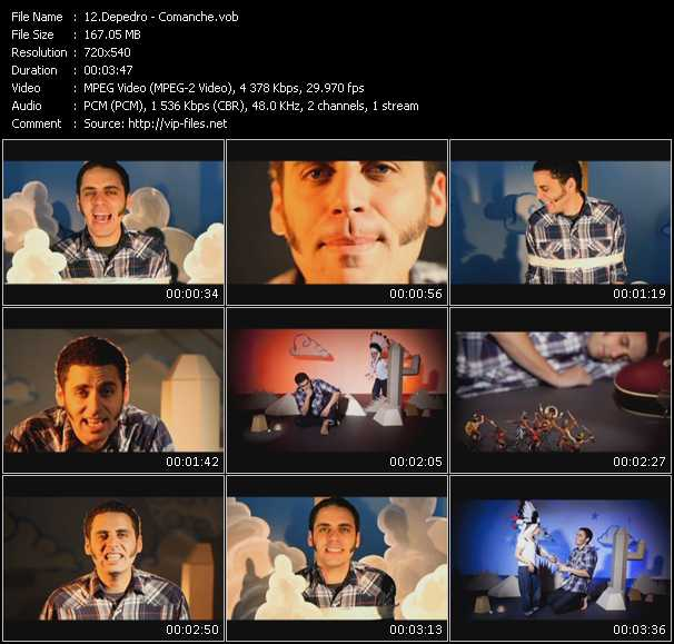 Depedro video screenshot