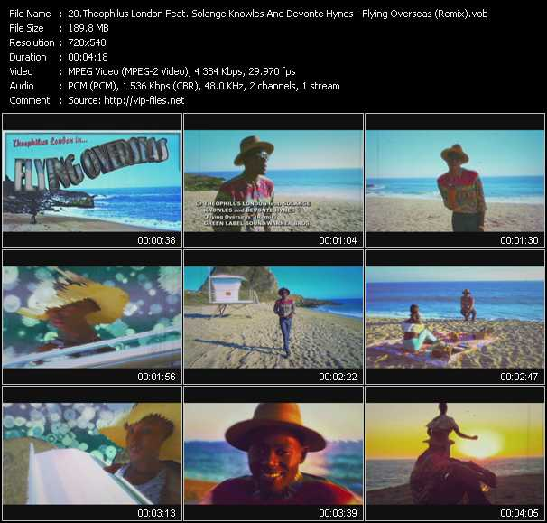 Theophilus London Feat. Solange Knowles And Devonte Hynes video screenshot