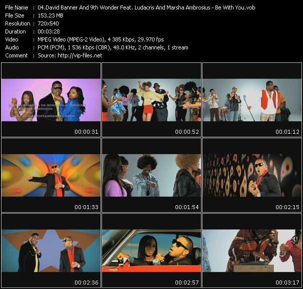 David Banner And 9th Wonder Feat. Ludacris And Marsha Ambrosius video screenshot