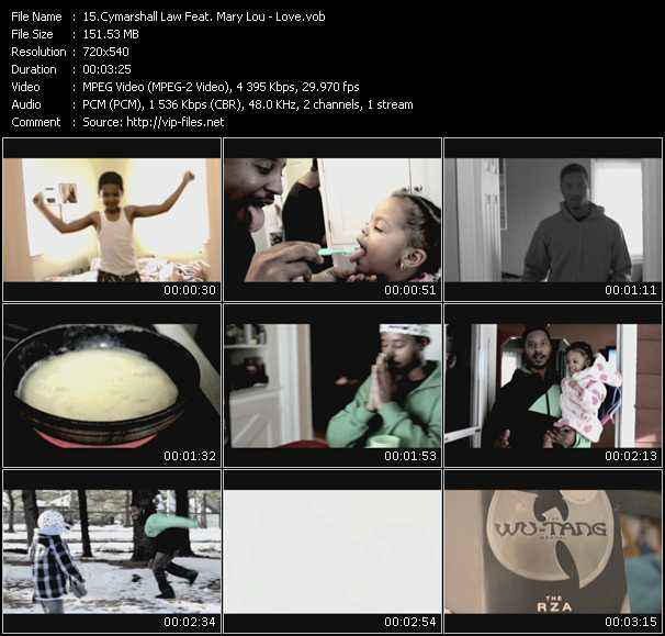 Cymarshall Law Feat. Mary Lou video screenshot