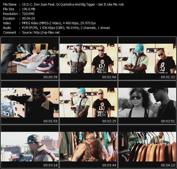 D.C. Don Juan Feat. Dj Quicksilva And Big Tigger video screenshot