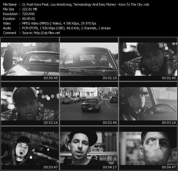 Push Keys Feat. Lou Armstrong, Termanology And Easy Money video screenshot