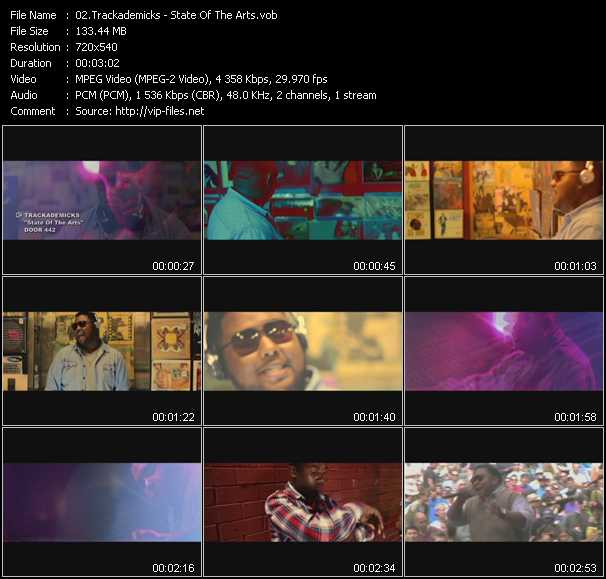 Trackademicks video screenshot