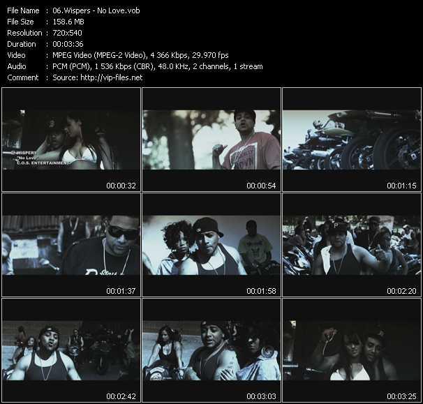 Wispers video screenshot