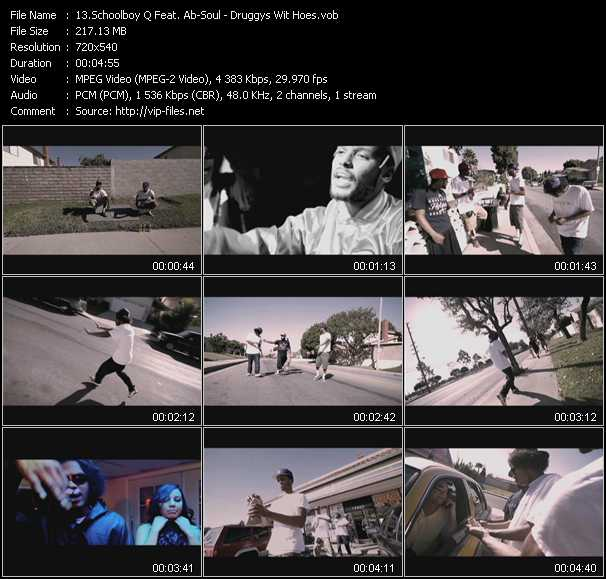 Schoolboy Q Feat. Ab-Soul video screenshot