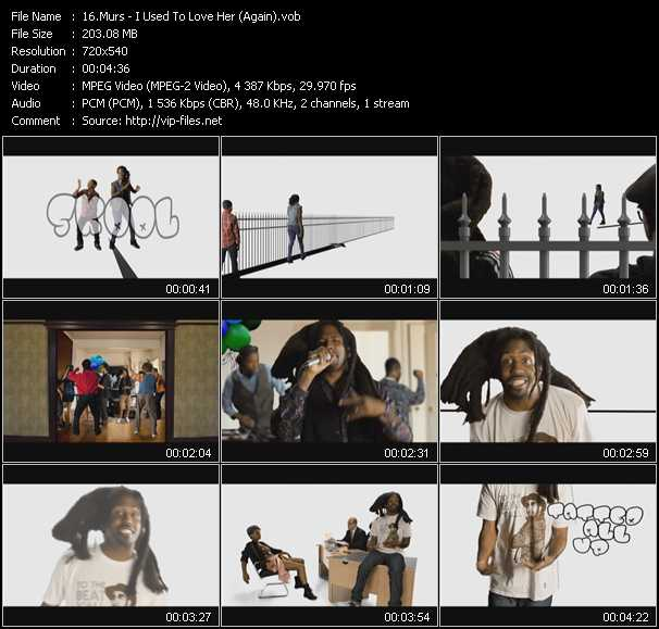 Murs video screenshot