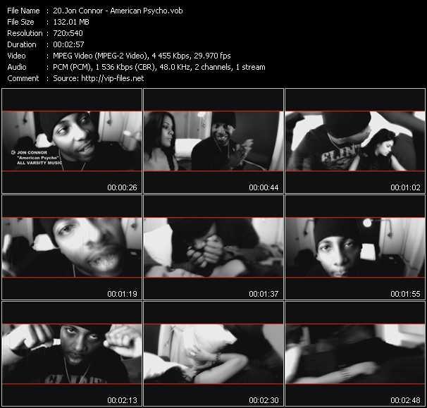 Jon Connor video screenshot