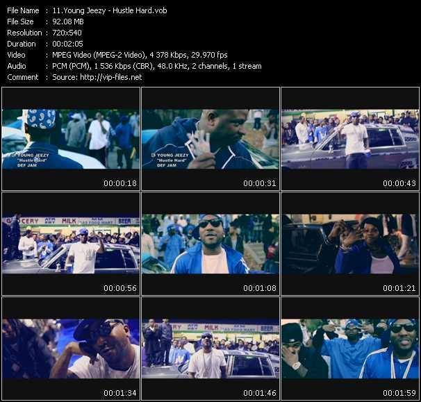 video Hustle Hard screen
