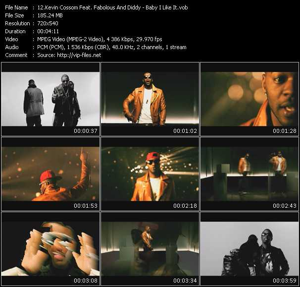 Kevin Cossom Feat. Fabolous And P. Diddy (Puff Daddy) video screenshot
