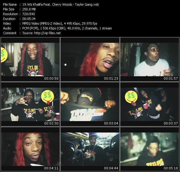 Wiz Khalifa Feat. Chevy Woods video screenshot
