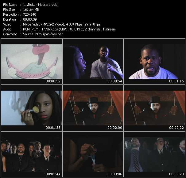 Reks video screenshot