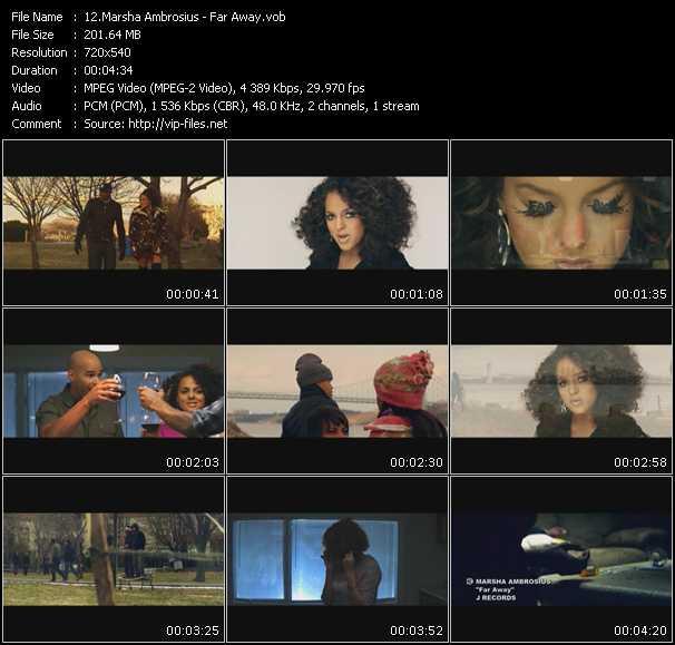 Marsha Ambrosius video screenshot