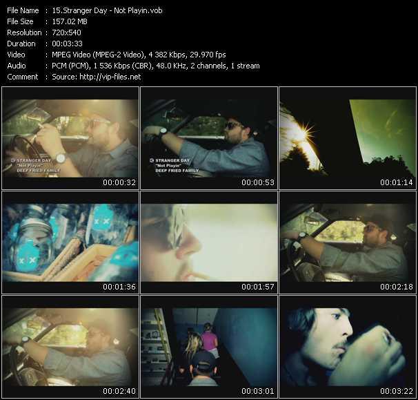 Stranger Day video screenshot