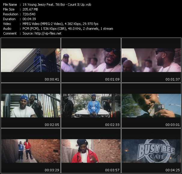 video Count It Up screen