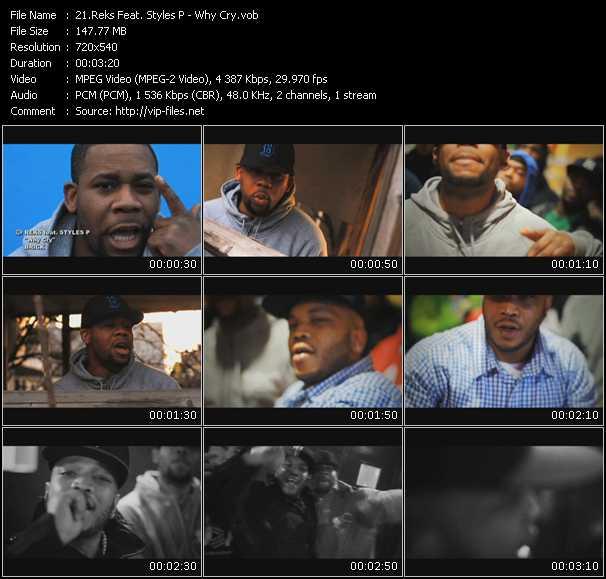 Reks Feat. Styles P video screenshot