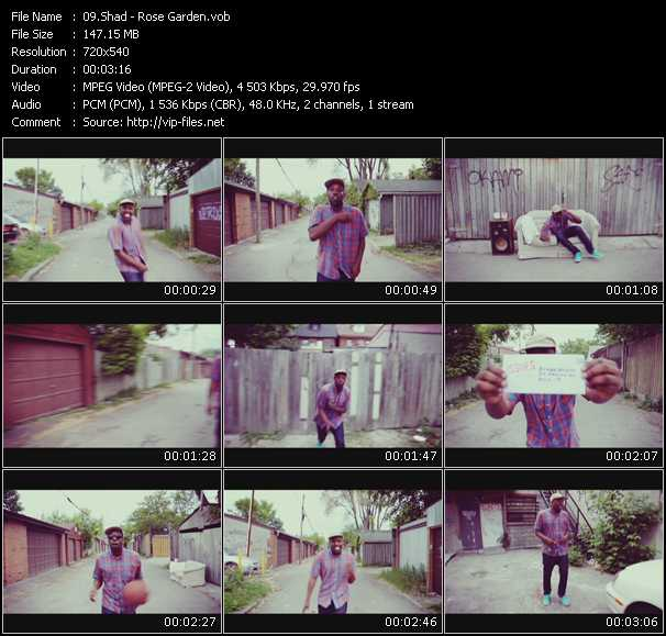 Shad video screenshot
