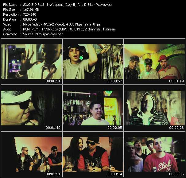G-E-D Feat. T-Weaponz, Izzy-Ill, And D-Zilla video screenshot