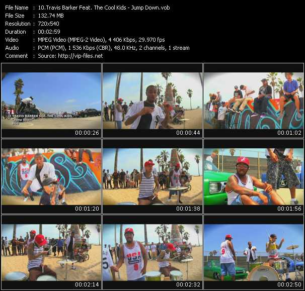 Travis Barker Feat. The Cool Kids video screenshot