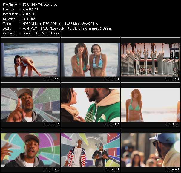 U-N-I video screenshot