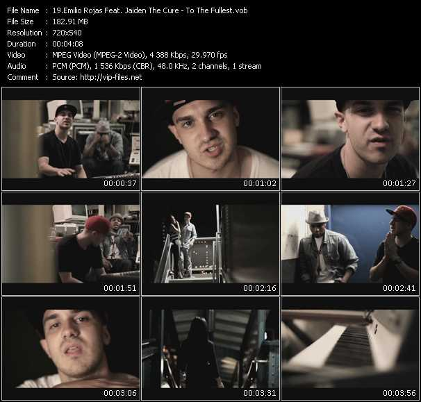 Emilio Rojas Feat. Jaiden The Cure video screenshot