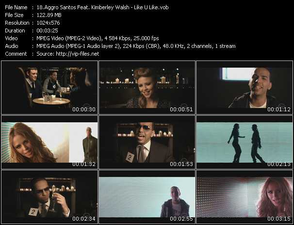 Aggro Santos Feat. Kimberley Walsh video screenshot