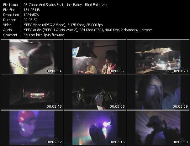 Chase And Status Feat. Liam Bailey video screenshot
