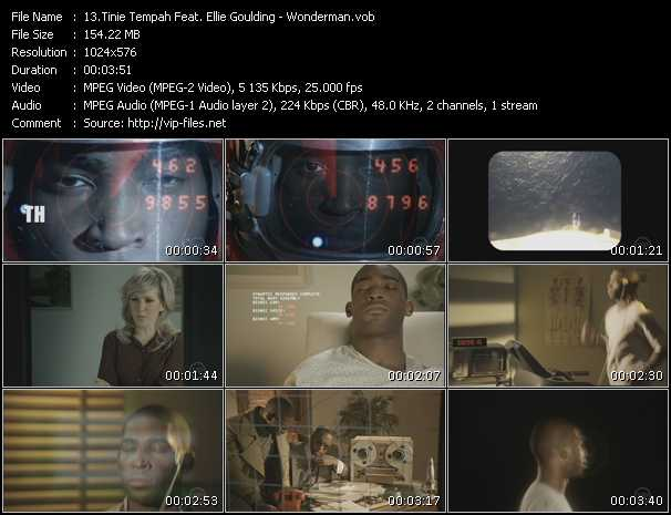 Tinie Tempah Feat. Ellie Goulding video screenshot