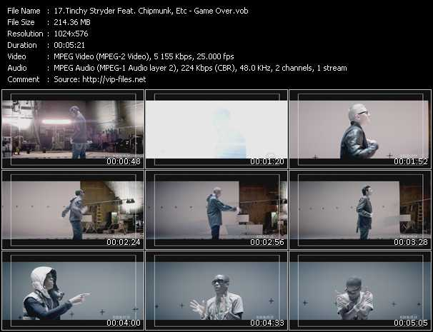 Tinchy Stryder Feat. Chipmunk, Etc video screenshot
