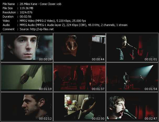 Miles Kane video screenshot