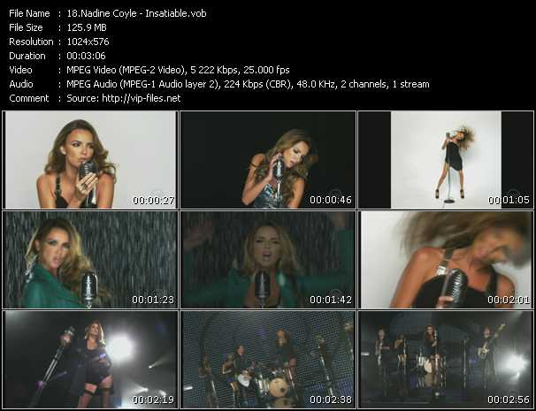 Nadine Coyle video screenshot