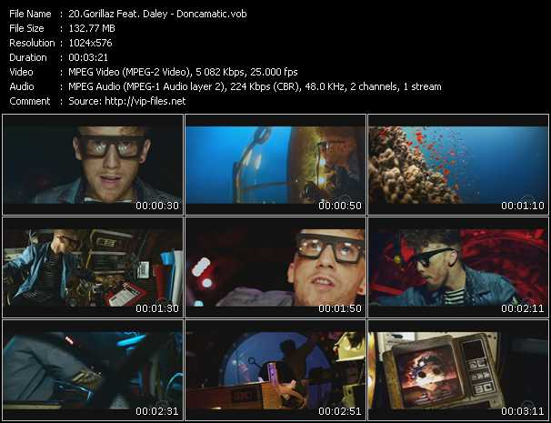 Gorillaz Feat. Daley video screenshot