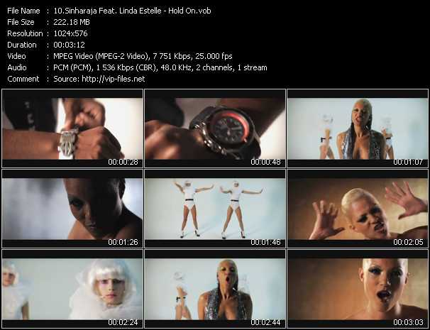 Sinharaja Feat. Linda Estelle video screenshot