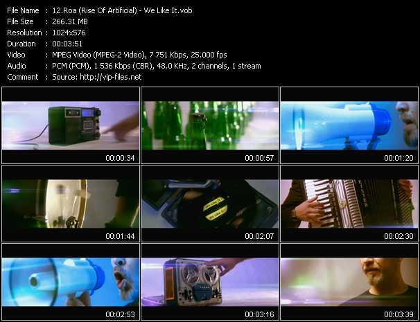 Roa (Rise Of Artificial) video screenshot