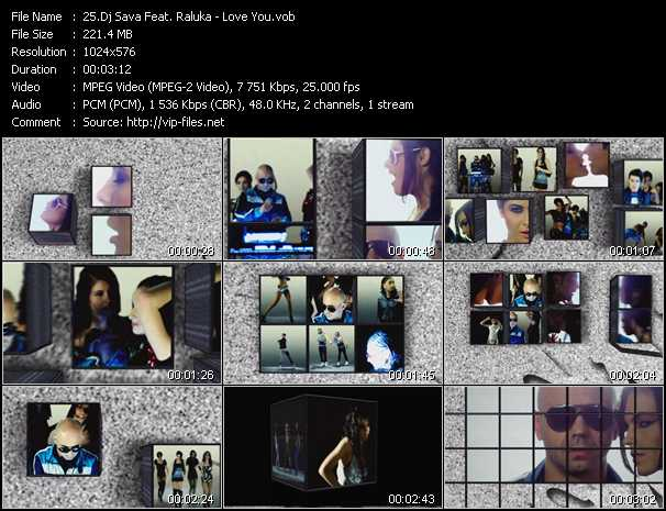 Dj Sava Feat. Raluka video screenshot